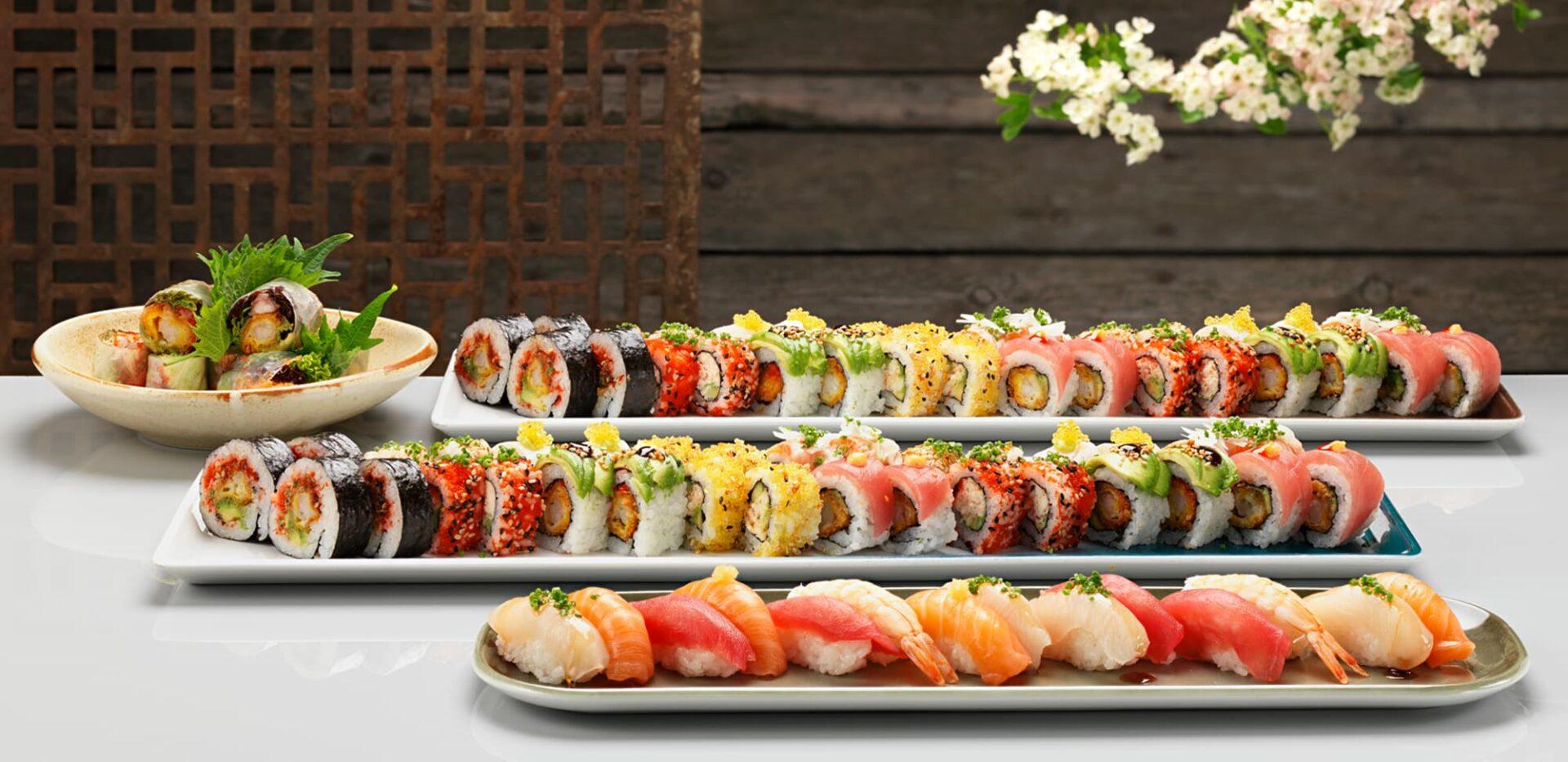 Sushi til selskab